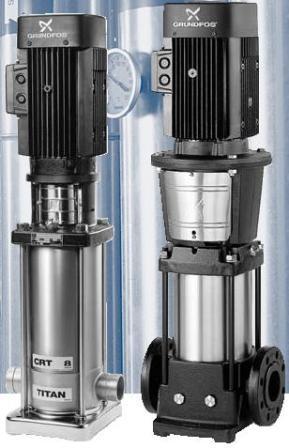 Малогабаритные водяные станции GRUNDFOS CR 1-2 F