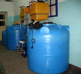 Электролизные комплексы получения и дозирования гипохлорита натрия