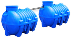 Компактные установки очистки хозяйственно-бытовых сточных вод от коттеджей