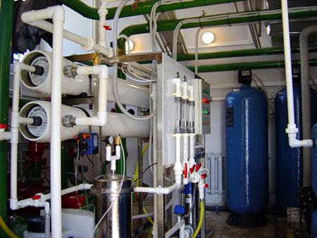 Мембранные установки очистки воды, обеззараживания воды