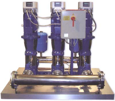 Насосные станции повыщения давления LOWARA GHV GHV20/SV408F15T/M